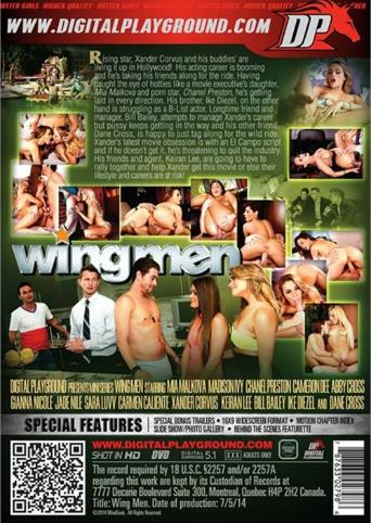Wingmen from Digital Playground back cover