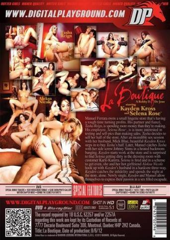 La Boutique from Digital Playground back cover