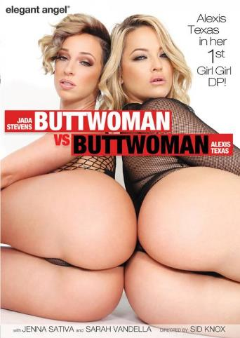 Buttwoman vs. Buttwoman 2017 from Elegant Angel front cover