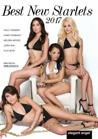 Best New Starlets 2017 from Elegant Angel front cover