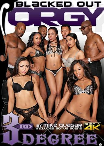 Blacked Out Orgy from 3rd Degree front cover