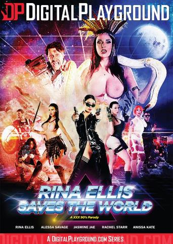 Rina Ellis Saves The World from Digital Playground front cover
