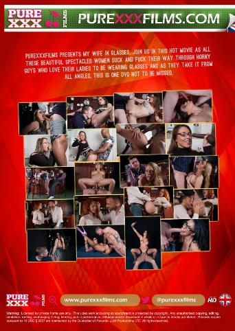 My Wife In Glasses from Pure XXX Films back cover