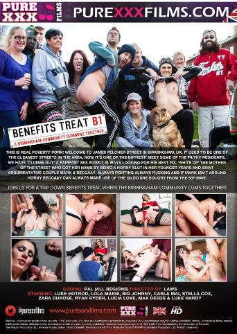 Benefits Treat B1 from Pure XXX Films back cover