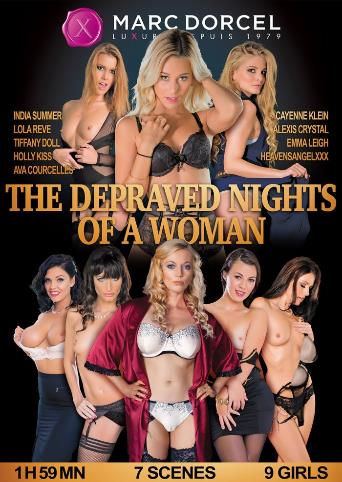 The Depraved Nights Of A Woman from Marc Dorcel front cover