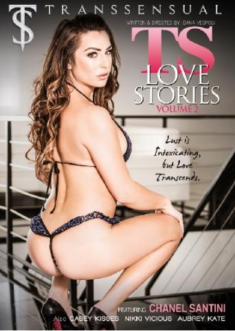 Ts Love Stories 2 from Transsensual front cover