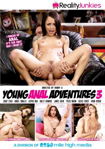 Young Anal Adventures 3 from Reality Junkies front cover