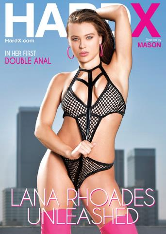 Lana Rhoades Unleashed from Hard X front cover