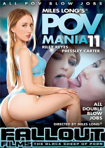 POV Mania 11 from Miles Long Productions front cover