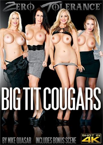 Big Tit Cougars from Zero Tolerance front cover