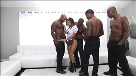 Interracial Gangbang Scene 2