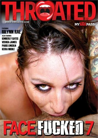 Face Fucked 7 from Throated front cover