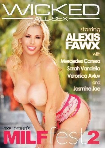 Axel Braun's MILF Fest 2 from Wicked front cover