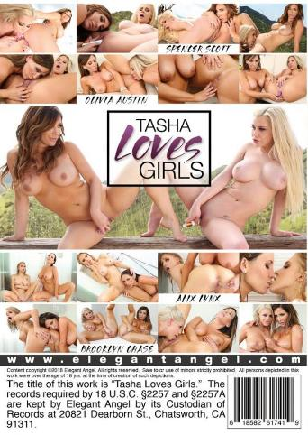 Tasha Loves Girls from Elegant Angel back cover