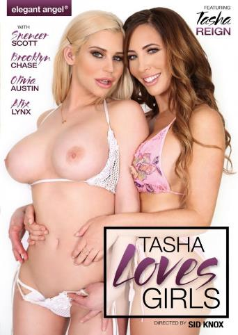 Tasha Loves Girls from Elegant Angel front cover