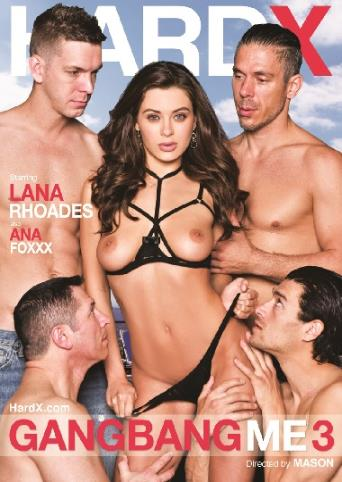 Gangbang Me 3 from Hard X front cover