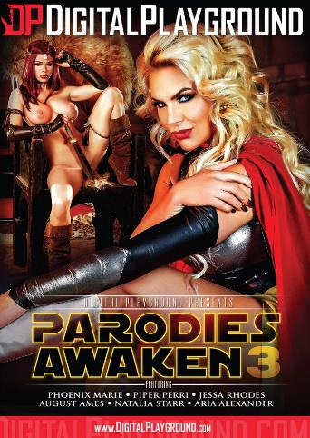Parodies Awaken 3 from Digital Playground front cover