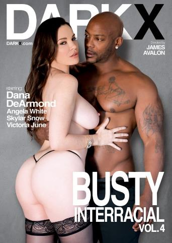 Busty Interracial 4 from Dark X front cover