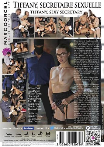 Tiffany Sexy Secretary from Marc Dorcel back cover
