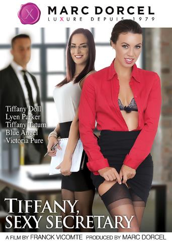 Tiffany Sexy Secretary from Marc Dorcel front cover