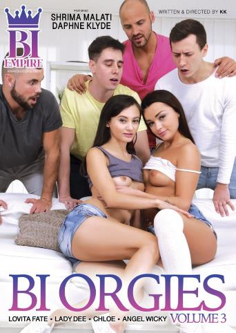 Bi Orgies 3 from Bi Empire front cover