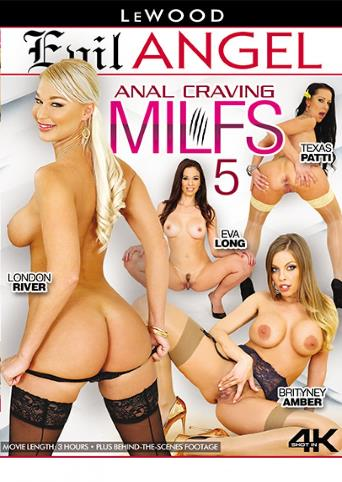 Anal Craving MILFs 5 from Evil Angel front cover