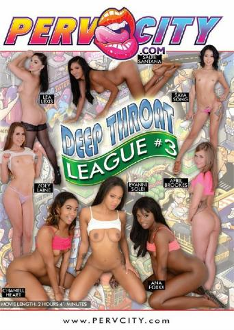 Deep Throat League 3 from Evil Angel front cover
