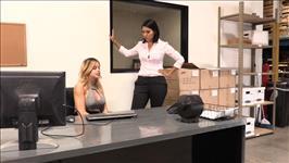 Lesbian Office Affairs 2 Scene 3