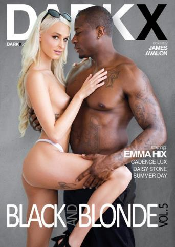Black And Blonde 5 from Dark X front cover