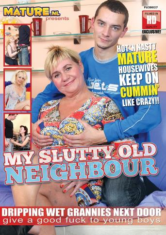 My Slutty Old Neighbour from Mature front cover
