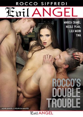 Rocco's Double Trouble from Evil Angel: Rocco Siffredi front cover