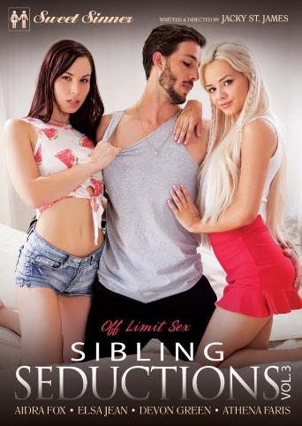 Sibling Seductions 3 from Sweet Sinner front cover