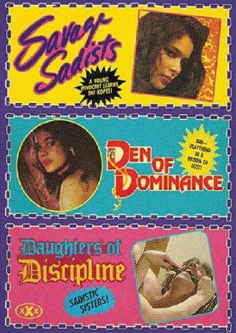 Den Of Dominance from Vinegar Syndrome back cover