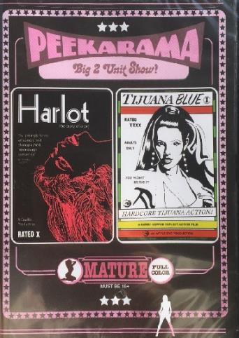 Harlot from Vinegar Syndrome front cover