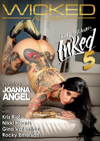 Axel Braun's Inked 5 from Wicked front cover